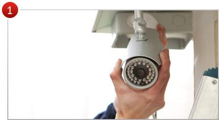 монтаж охранного телевидения, видеонаблюдения