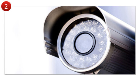 установка охранного телевидения, видеонаблюдения