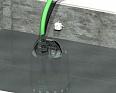 Датчик протечки h2o-Контакт использован, как датчик верхнего уровня в приямке